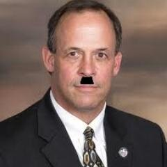 A satiric photo of Mayor Ardis from the @NotPeoriaMayor twitter page